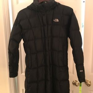 NORTH FACE puffer in Black size M